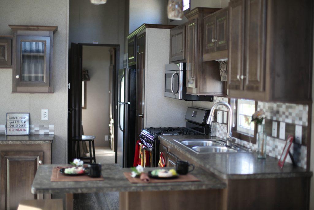 park model new kitchen