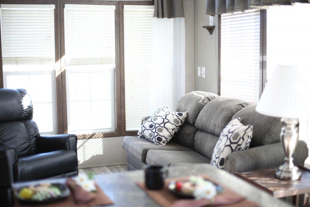 new park model living room