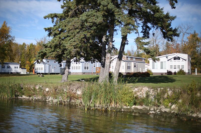 lake side park model sales