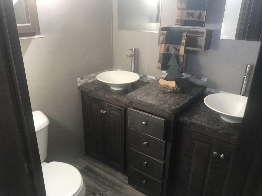 new park model bathroom