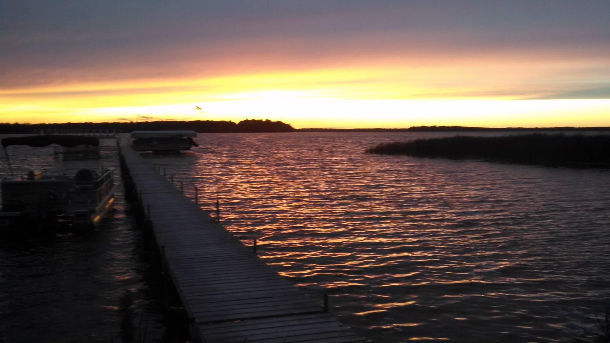 blackduck lake sunset