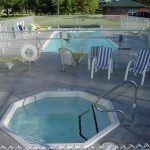 resort heated pool