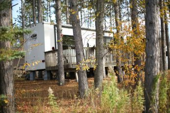 wooded rv sites