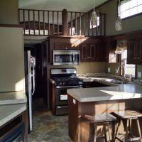 beautifull park model kitchen
